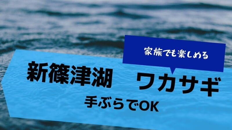 新篠津湖ワカサギ釣り