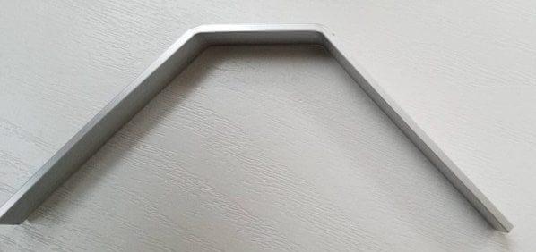 アルミ板曲げる